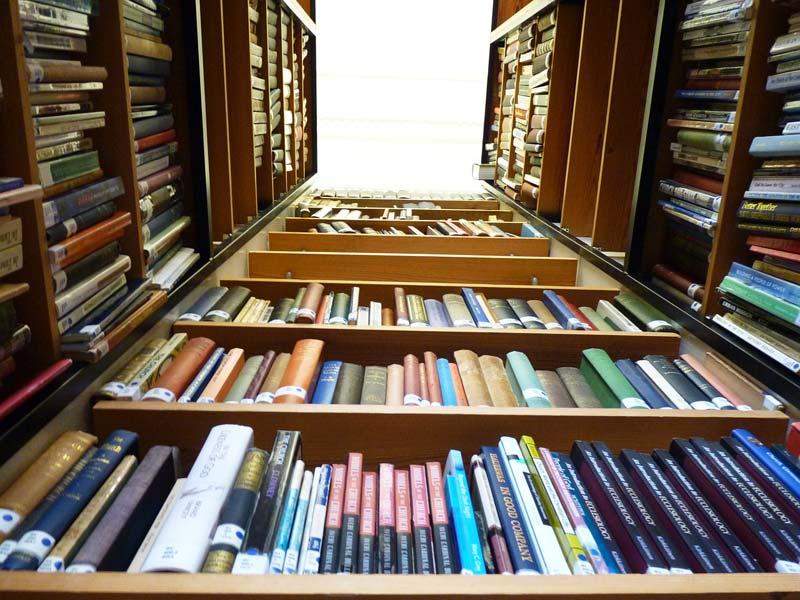 Bücherregale für das Literaturhaus Köln